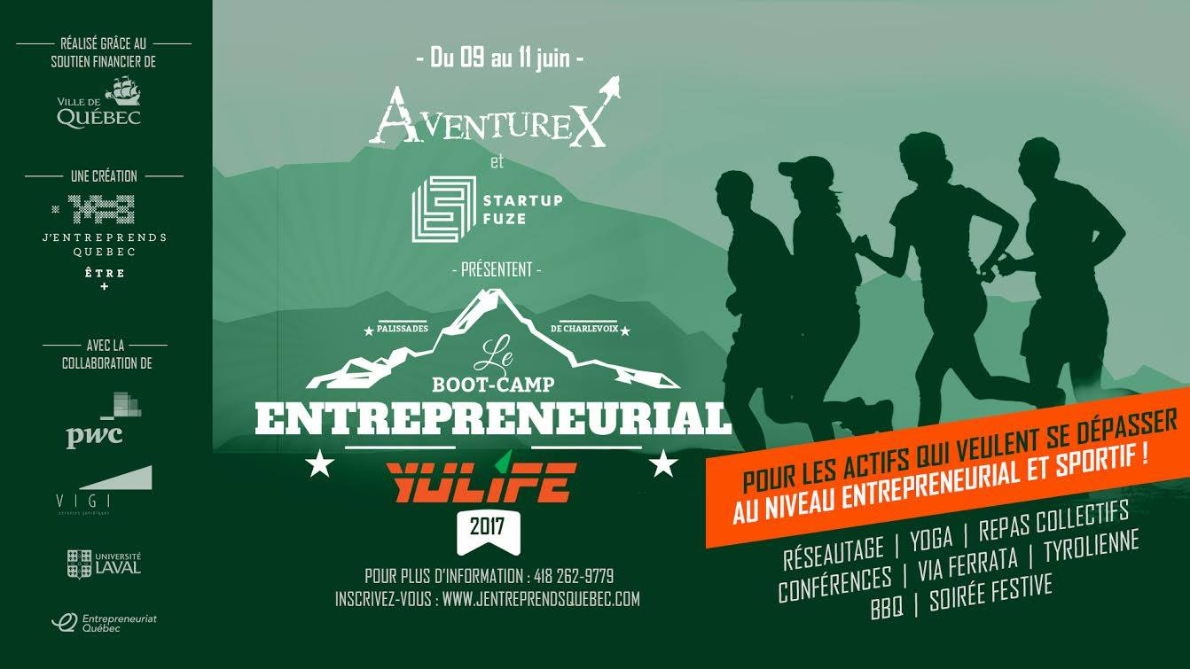 Boot-Camp Entrepreneurial Yulife 2017