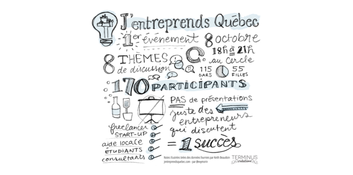 Lancement de J'entreprends Québec