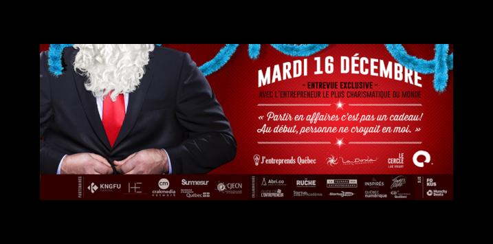 Entrevue exclusive avec l'entrepreneur le plus charismatique du monde – Le père Noël